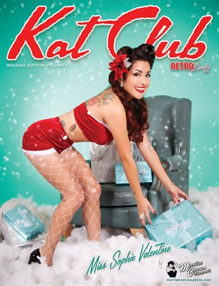 Kat Club Holiday Edition Volume II - Miss Sophie Valentine Cover