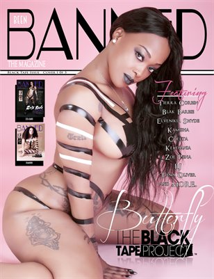 Beenbanned.com The Magazine The Black Tape Project - Butterfly Cover