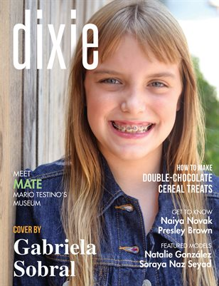 Dixie Magazine - September 2017 Vol. 2 Cover Model Grace Longevin