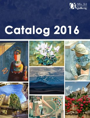 Alfa Art Gallery Catalog 2016