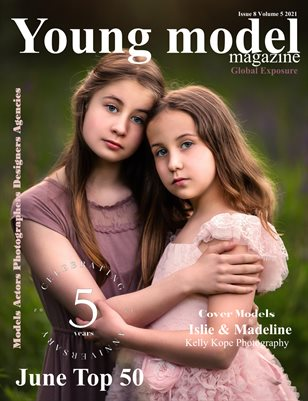 Young Model Magazine Issue 8 Volume 5 2021 June Top 50