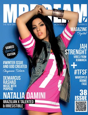 MR DREAMZ magazine x Natalia Damini