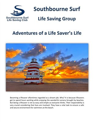 Southbourne Surf Group: Adventures of a Life Saver's Life