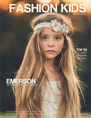 Young Fashion Kids Magazine | SEPTEMBER MOST BEAUTIFUL