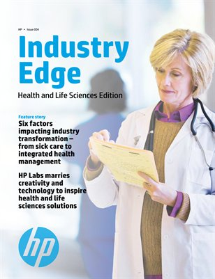 HP Industry Edge: Health and Life Sciences edition