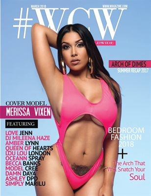 """WCW Magazine """"Summer Recap"""" Merissa Vixen"""
