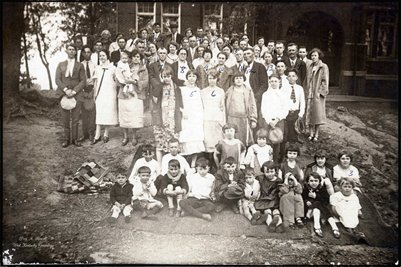 Carter & Verhines Family Cousins abt 1923