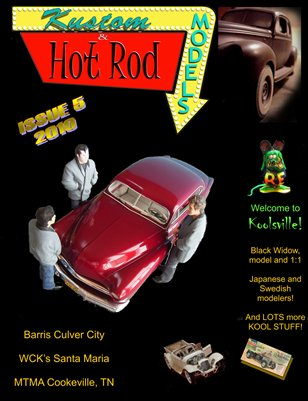 Kustom and Hot Rod Models Issue 5 - Cover B
