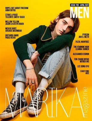 MARIKA MAGAZINE MEN (ISSUE 799 - APRIL)