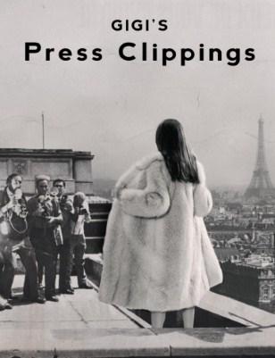 Press Clippings for Gigi, the Black Flower