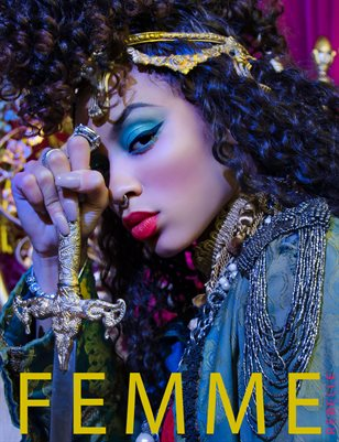 Femme Rebelle Magazine SEPTEMBER 2017 - BOOK 1 Chrystyne Cover