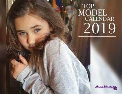 Top Cover Model Calendar 50% off