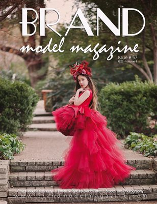 Brand Model Magazine  Issue # 57, RED Vol. 4