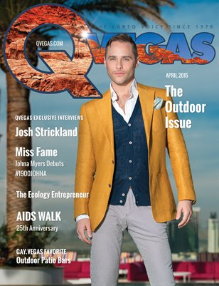 QVegas April 2015 | The Outdoor Issue
