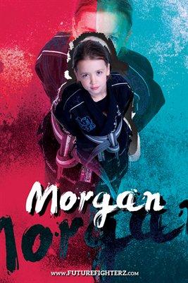 Morgan Rutherford Grunge Poster
