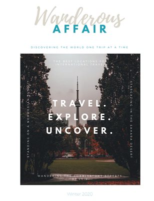 Wanderous Affair: Volume 3, Issue 3