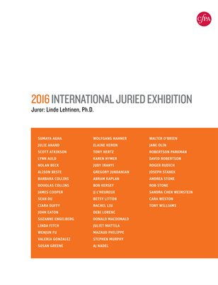 2016 International Juried Exhibition