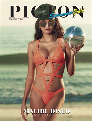 Picton Magazine May 2019 Swimwear GOLD N111 Cover 1