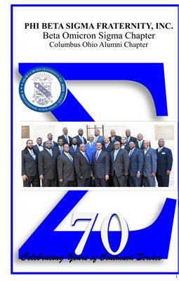 PHI BETA SIGMA FRATERNITY, INC., Beta Omicron Sigma Chapter,  Columbus Ohio Alumni Chapter