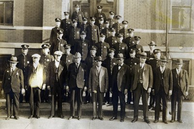 1929 Paducah, Kentucky Police Force