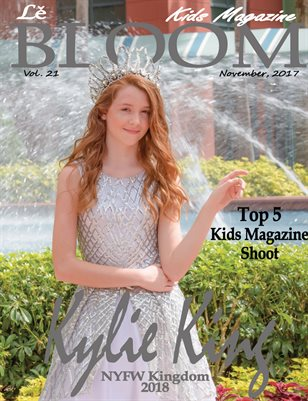 Le Bloom Kids Magazine Kylie King