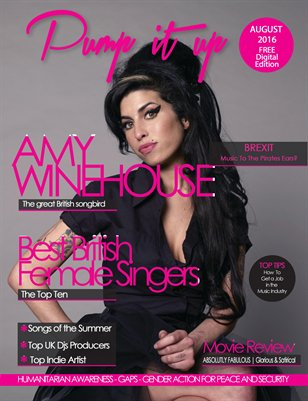 Pump It Up Magazine   August 2016