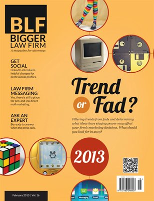 Trend or Fad - February 2013