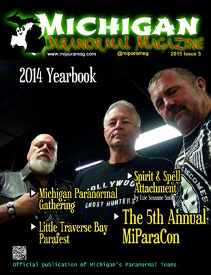 Michigan Paranormal Magazine, 2015 Issue 3