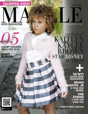 Maelle Kids Magazine Issue #4 with Disney Star Kaitlyn Kaylle Brown