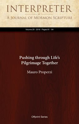 Pushing through Life's Pilgrimage Together