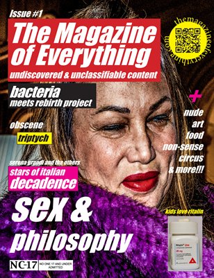 The Magazine of everything Issue #1