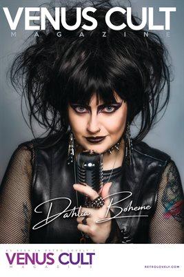 Venus Cult No.46 – Dahlia Boheme Cover Poster