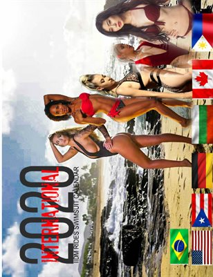 2020 International IIDM RIDES Swimsuit Calendar