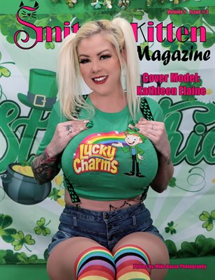 Smitten Kitten Pinup Magazine Cover 2 Kathleen Elaine March 2020 Issue