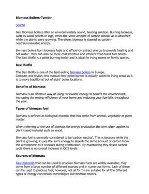 Biomass Boilers-Tumblr