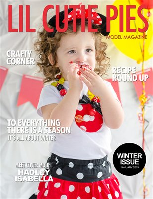 Lil' Cutie Pies Model Magazine Winter 2015 Issue