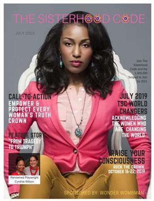 (JULY EDITION) TSC MAGAZINE: Empower & Protect Every Woman's Truth Crown