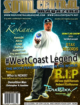 Soul Central Magazine Edition #56 #Legendary #Kokane