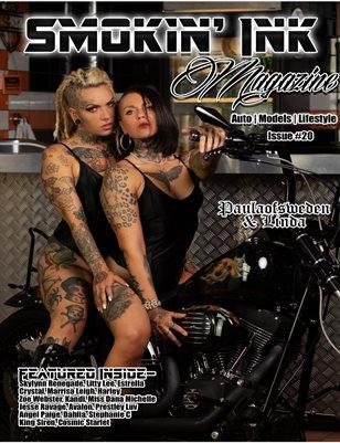 Smokin' Ink Magazine Issue #20 - Paulaofsweden & Linda