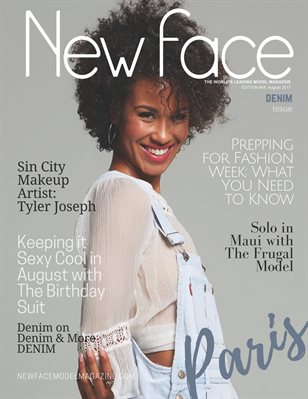 New Face Model Magazine - Issue 08, August '17