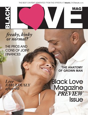 BLACK Love Mag Winter 2012