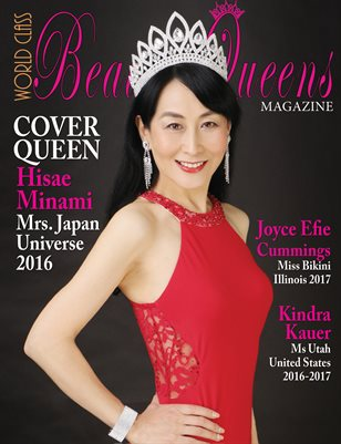 World Class Beauty Queens Magazine with Hisae Minami