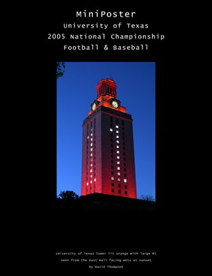 University of Texas Tower #1 - View 2