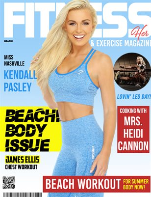 Fitness and Exercise Magazine Her Edition Aug 2018