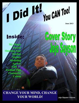 I Did It Magazine Jojo Sayson June 2013