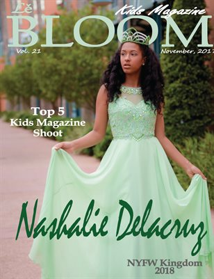 Le Bloom Kids Magazine Nashalie Delacruz