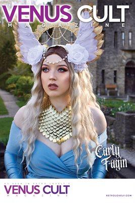 Venus Cult No.36 – Carly Fagin Cover Poster