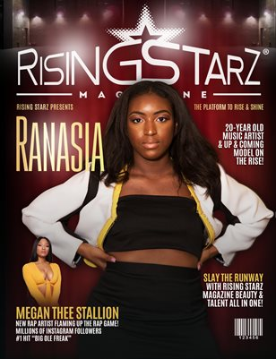 2019 Rising Starz Summer Issue Ranasia Cover