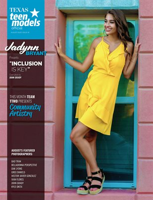 Texas Teen Models Official Magazine - August 2020 - Vol. 35