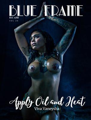 Blue Frame Magazine Volume 26 Featuring Viva Vaneysha